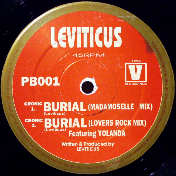 Leviticus - The Burial