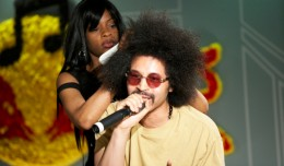Moodymann's hair at RBMA