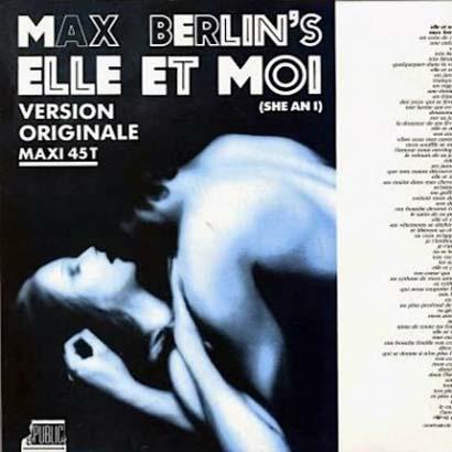 "Forgotten Treasure: Max Berlin ""Elle et moi"""