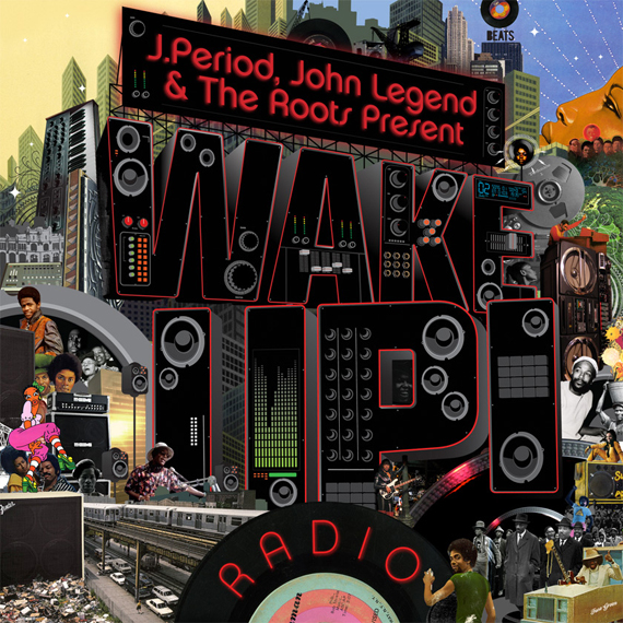J Period + John Legend Mixtape - Wake up