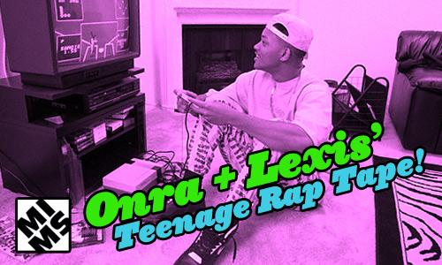 "Onra & Lexis' ""Teenage Years Rap Tape"""