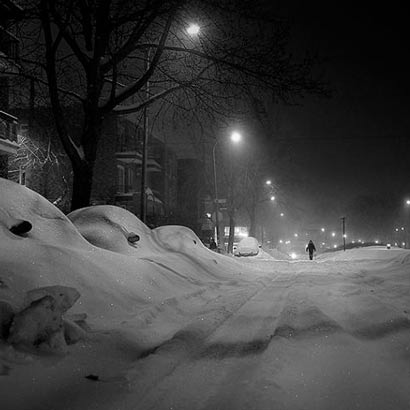 """Snow Day in Montreal"" by Scott C"