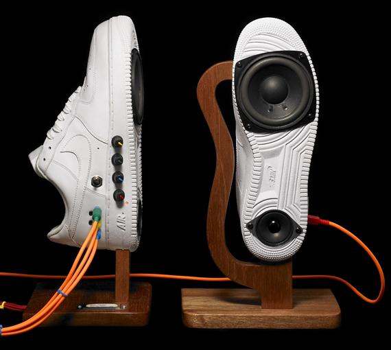 Sneaker Speakers Nike Air Force 1 Music Is My Sanctuary