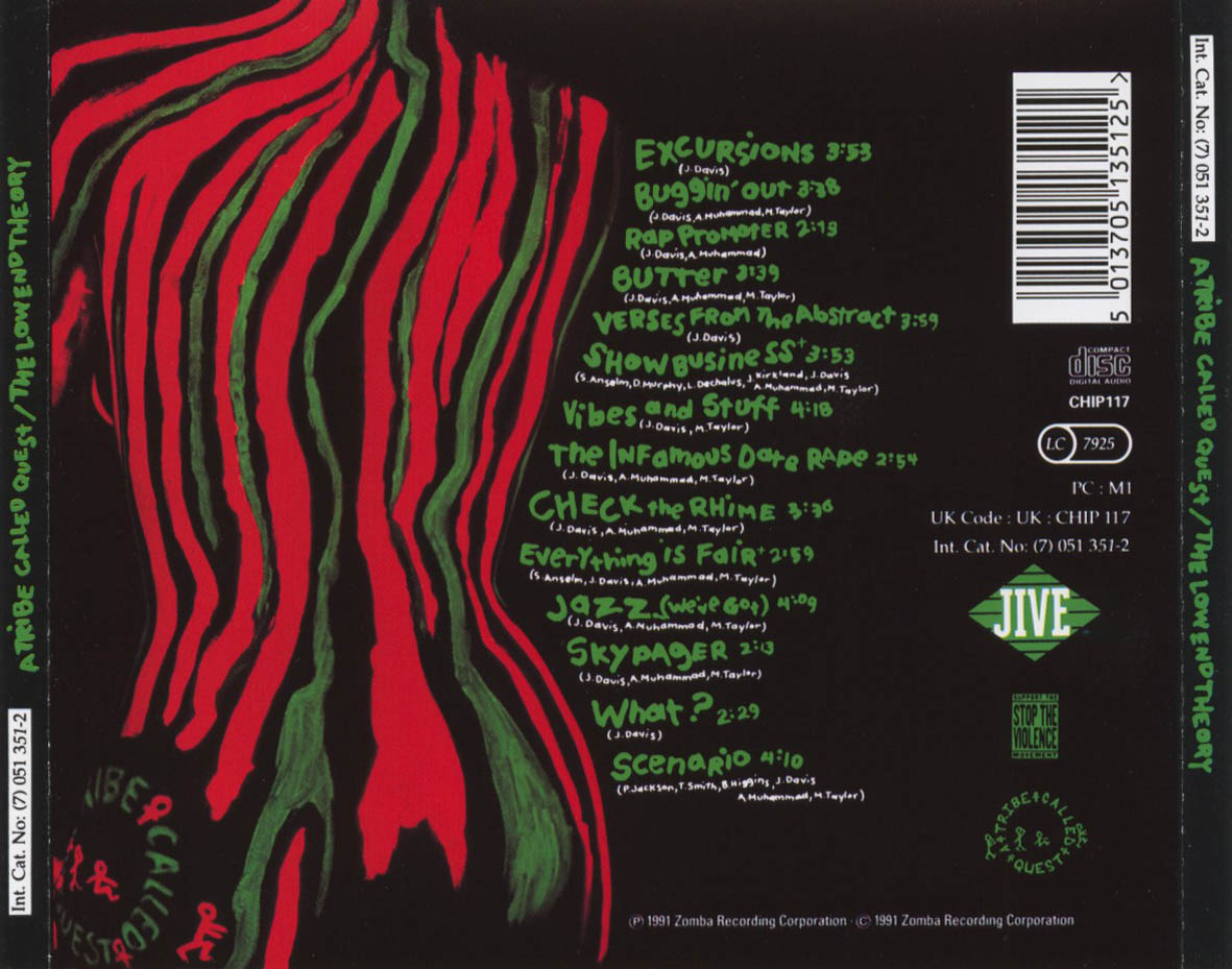 20 Years Ago A Tribe Called Quest Quot Low End Theory
