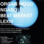 Thursday August 18th: Beat Market, Ngabo, Organ Mood and Lexis!
