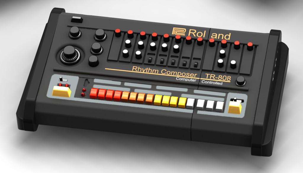 Solo-TR-808 Roland USB Drive