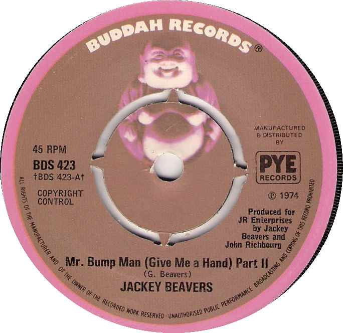 "Forgotten Treasure: Jackie Beavers ""Mr. Bump Man"""