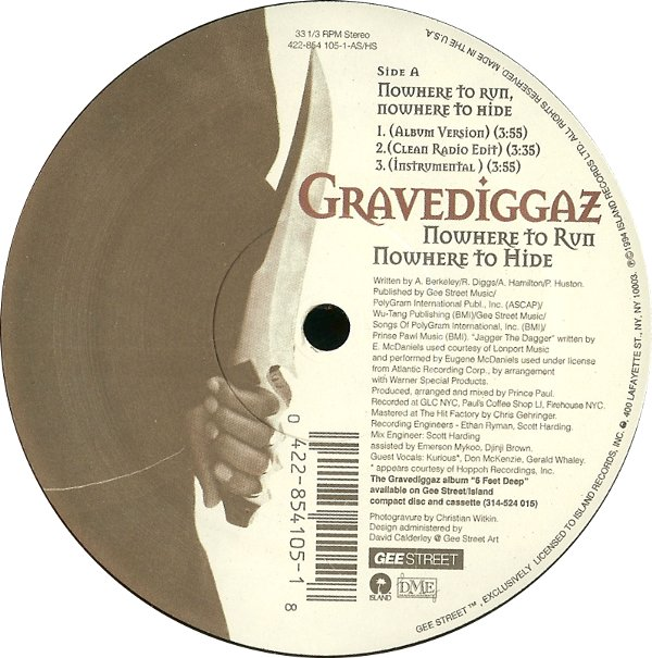 "Forgotten Treasure: Portishead remix of Gravediggaz' ""Nowhere to Run"""