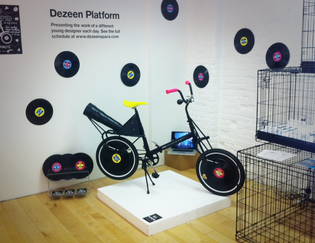 Bicycle Record Player