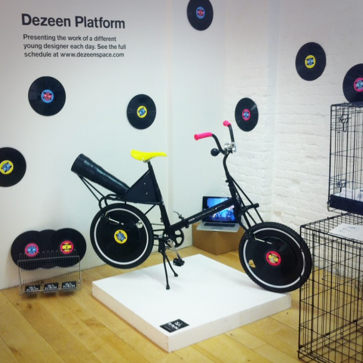 """Feats Per Minute"" Bicycle Record Player"