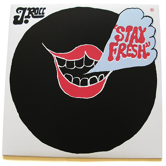 "J. Rocc – ""Stay Fresh"" 12″ EP"