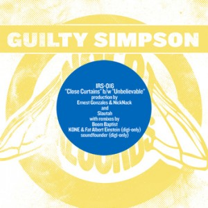 "Guilty Simpson ""Close Curtains"" EP"
