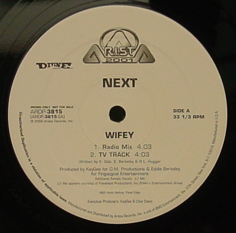 "Forgotten Treasure: Next ""Wifey"""