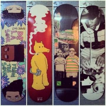 Hip-Hop Skate Decks