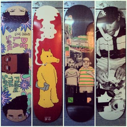 Hip-Hop Skate Decks