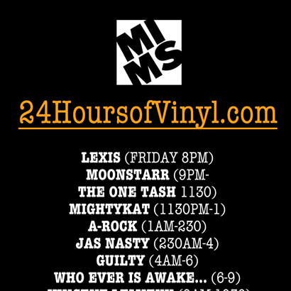 MIMS' 24 Hours of Vinyl – Edition #3