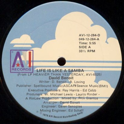 "Forgotten Treasure: David Benoit ""Life is like a Samba"""