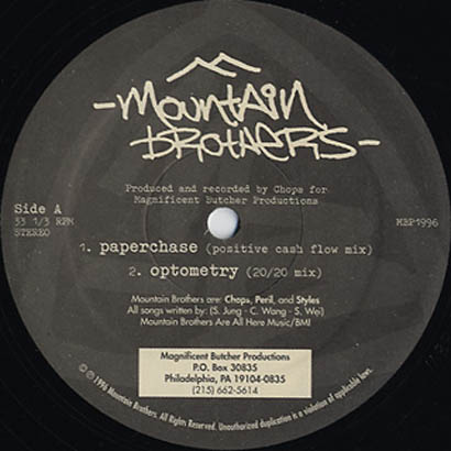 "Forgotten Treasure: Mountain Brothers ""Paperchase"""