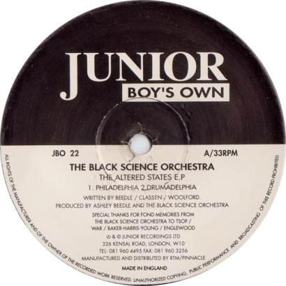 "Forgotten Treasure: Black Science Orchestra ""New Jersey Deep"""