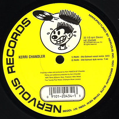 "Forgotten Treasure: Kerri Chandler ""Rain"""