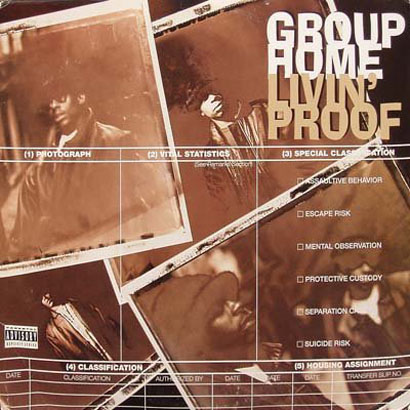 "Forgotten Treasure: Group Home ""Up Against Tha Wall"" Getaway Car Remix"