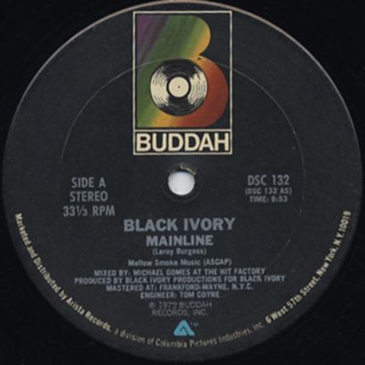 "Forgotten Treasure: Black Ivory ""Mainline"""