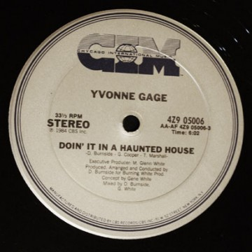 """Forgotten Treasure: Yvonne Gage """"Doin' It In A Haunted House"""""""