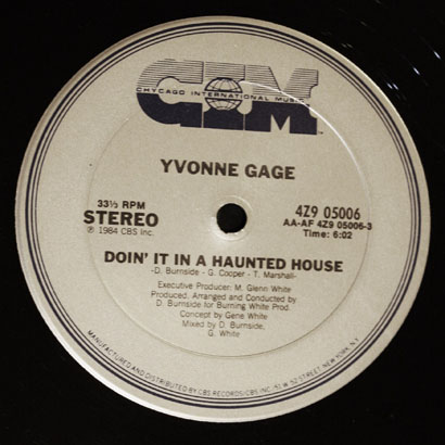 "Forgotten Treasure: Yvonne Gage ""Doin' It In A Haunted House"""