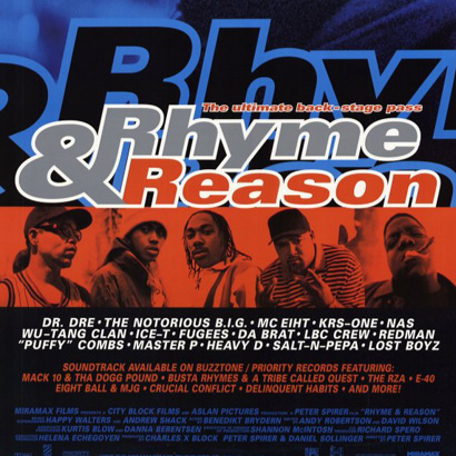 """Rhyme & Reason"" Movie Poster by Peter Spirer"