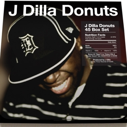 """J Dilla """"Donuts"""" 45′ Box Set"""