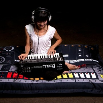 Drum Machine Cushions & Bean Bags by Analog Sweden