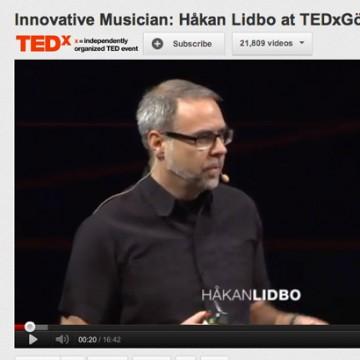 Hakan Lidbo @ TED x Göteborg