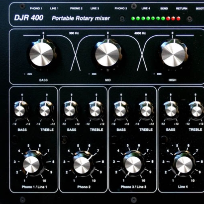 DJR 400 – Rotary Mixer from E&S