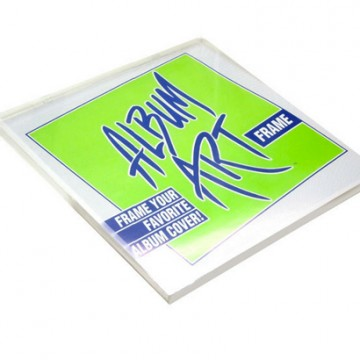 Record Supply Co – Clear Plastic Record Frame (10 Pack)