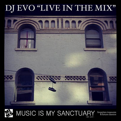"DJ EVO ""Live in the mix – December 2012″"