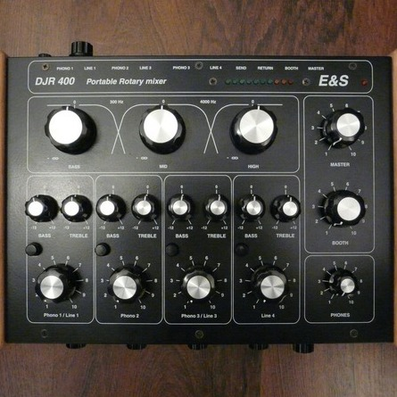 DJR 400 Rotary Mixer Review by E&S | Music Is My Sanctuary