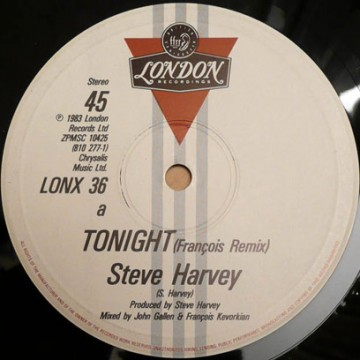 "Steve Harvey ""Tonight"" (Francois K Remix) (1983)"