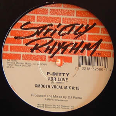"Forgotten Treasure: P-Ditty ""For Love"" Smooth Vocal Mix"