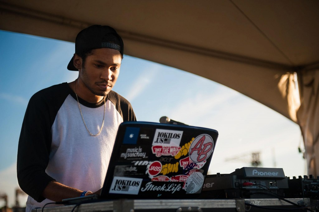 Kaytranada @ Pier Party (Philippe Sawicki)