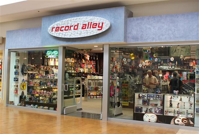 Record Alley Palm Springs Record Store