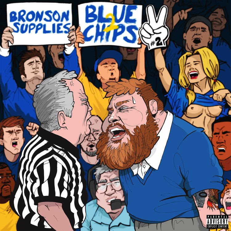"Action Bronson & Party Supplies ""Blue Chips 2″ Mixtape"