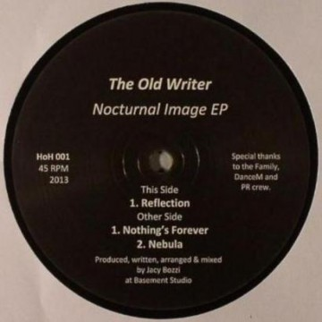 """The Old Writer """"Reflection"""""""