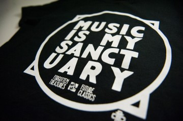 Music Is My Sanctuary Men's T-Shirt