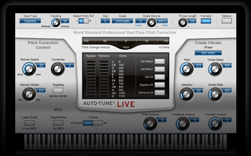 2 Auto Tune Live Screenshot