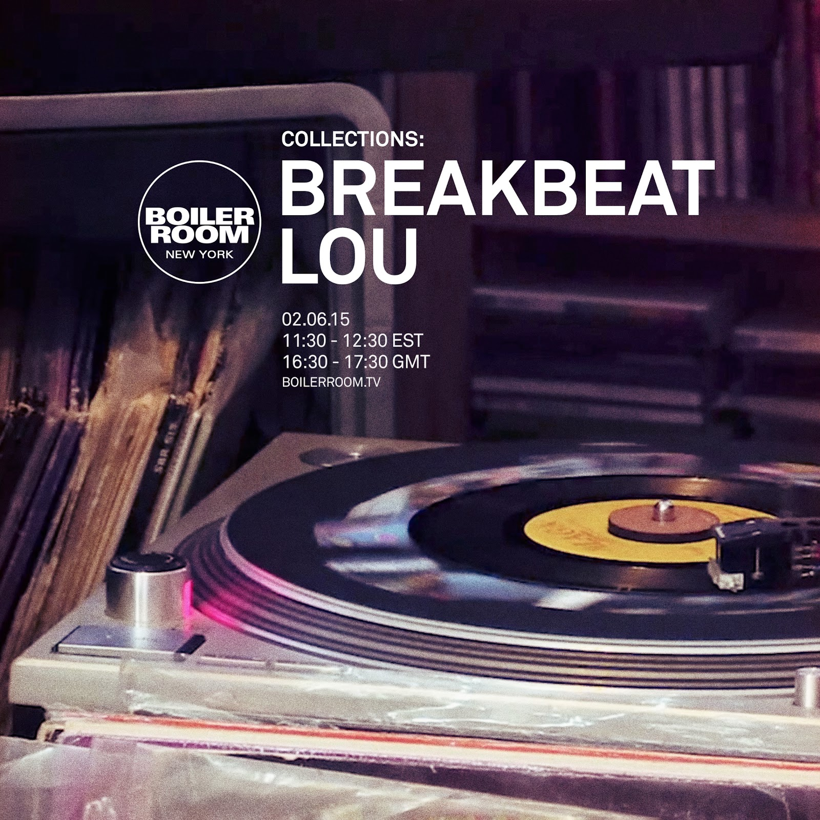 Breakbeat Lou S Amazing Record Collection On Quot Boiler Room