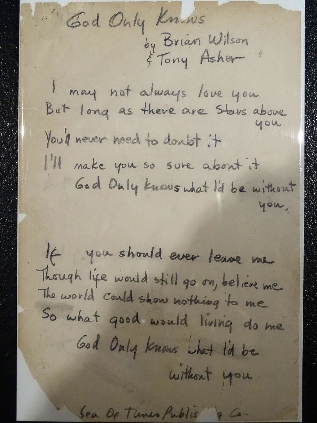 Manuscript_of_Lyrics_for_God_Only_Knows_-_Rock_&_Roll_Hall_of_Fame_and_Museum,_Cleveland_(by_Adam_Jones)