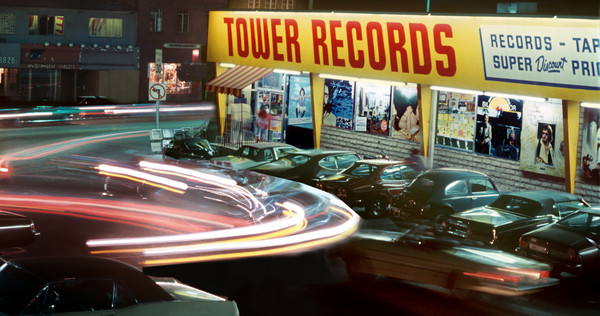 Tower Records on the Sunset Strip circa 1980